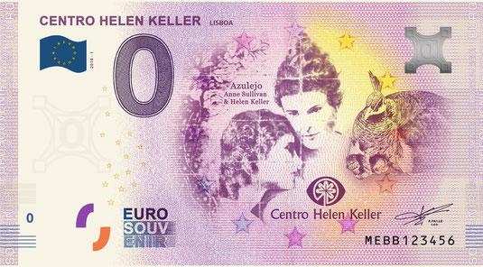 Nota Euro Souvenir - Colégio Helen Keller